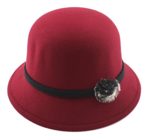 Sombrero De Paño Liso.. Art: 370032