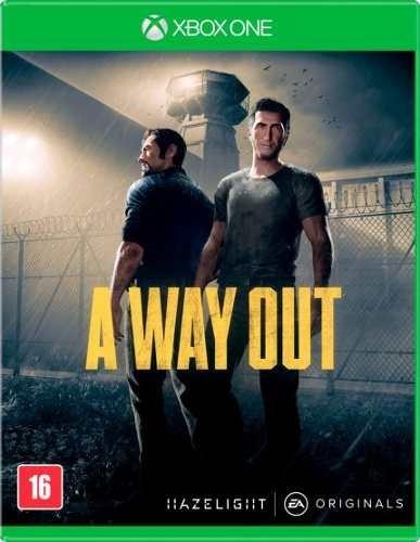 A Way Out Xbox One Mídia Física Pronta Entrega Legendad Port