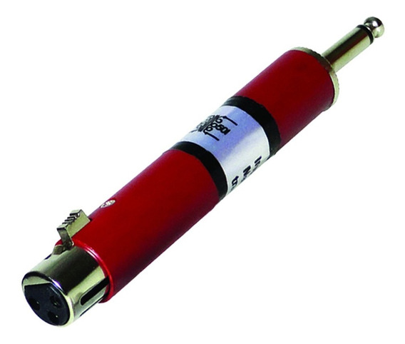 Adaptador Casador De Impedancia Xlr Femea P10 Csr 2874