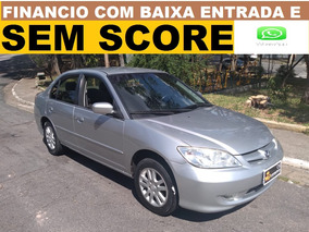 Honda Civic 1.7 Financiamento Sem Score Entrada No Cartão