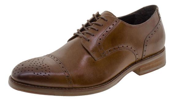 Sapato Masculino Social Democrata - 134104 Caramelo