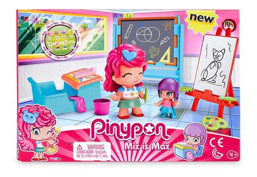 Pinypon Set Clase De Arte 2 Figuras Y Accesorios Educando