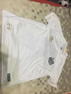 Camisa Santos Umbro Oficial 14 David Braz G Home 2018