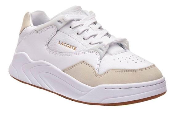 Zapatillas Lacoste Court Slam 319 1 Sfa Blanco Y37 Mujer I20