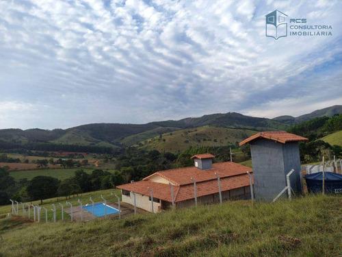 Imagem 1 de 30 de Rancho Com 3 Dormitórios À Venda, 200 M² Por R$ 700.000 - Capuava - Guapé/mg - Ra0002