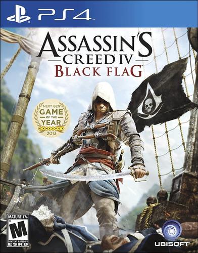 Imagen 1 de 3 de Assassins Creed 4 Black Flag - Ps4 Fisico Nuevo Y Sellado
