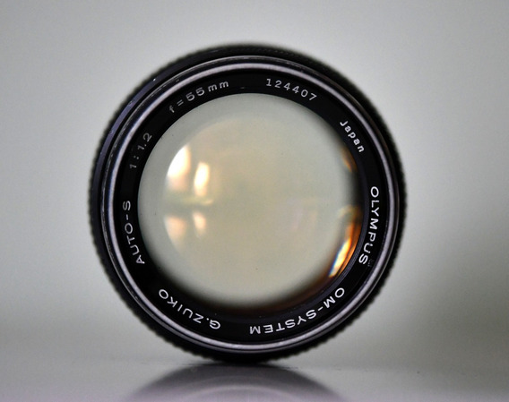 Lente Olympus G. Zuiko 55mm 1.2 - Top!! Limpa E Linda