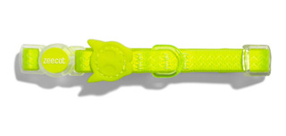 Neopro Lime Green Cat Collar By Zeedog Genius Cat Chile