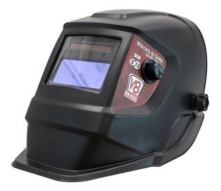 Máscara De Proteção Facial P/solda V8 Brasil, Automática Cr2