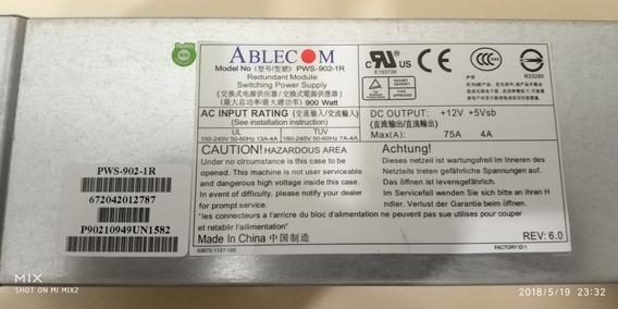 Fonte Redundante Supermicro Ablecom Pws-902-1r 900w 100%