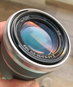 Lente Sony 55-210mm E-mont. Menor Preço Do Mercado