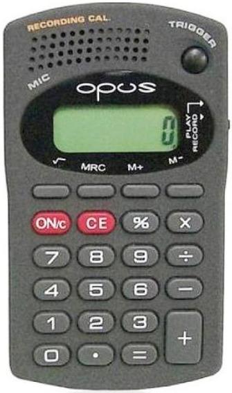 Calculadora Opus B607 Com Gravador De Mensagens