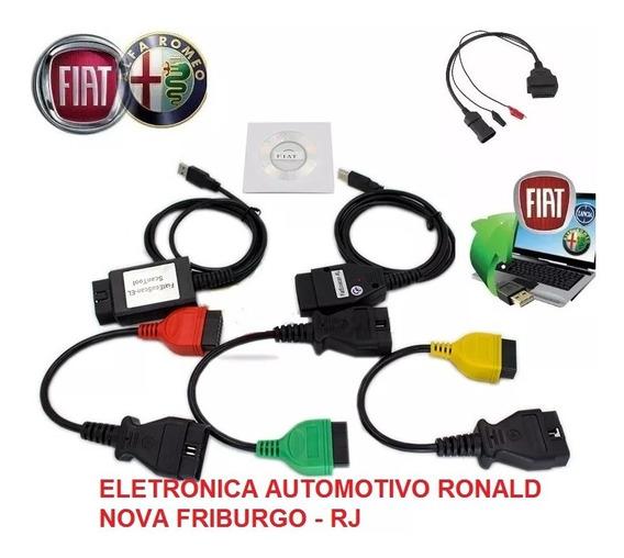 Scanner Fiat V3.9 + 2 Interface + 4 Cabos Melhor Versão