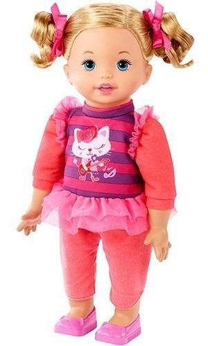 Boneca Little Mommy Vamos Fazer Música - Mattel Dhc34