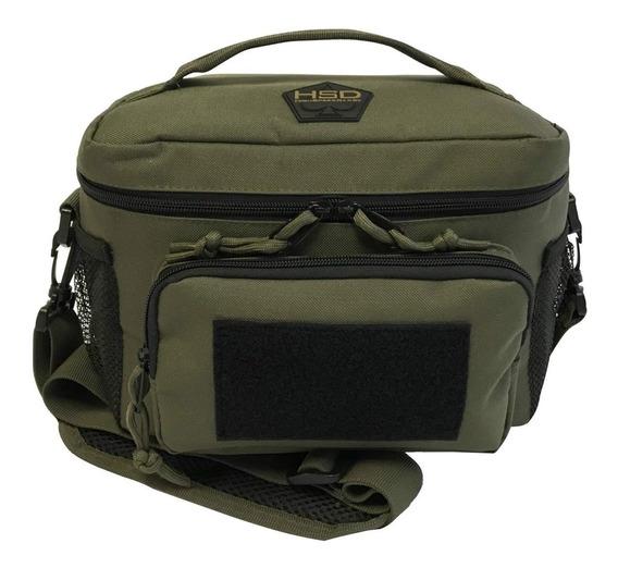 Lonchera Porta Comida Para Almuerzo Hsd Tactical Ranger Verd