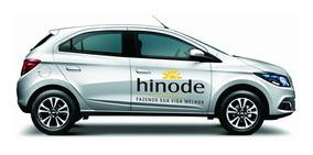 Adesivo Hinode Para Carro Kit Com 3 + Telefone