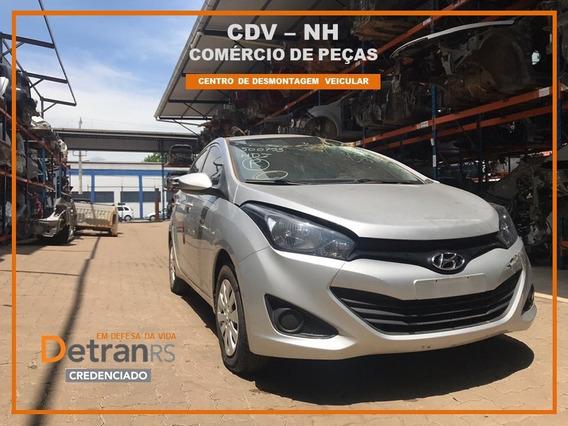 Sucata Hyundai Hb20 2014/15 1.0 80cv Flex (somente Peças)