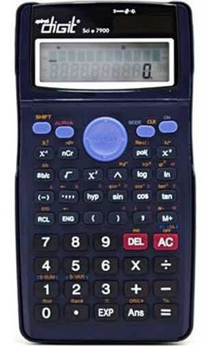 Calculadora Científica Spiral Digit Sci 7900 (bateria Solar)
