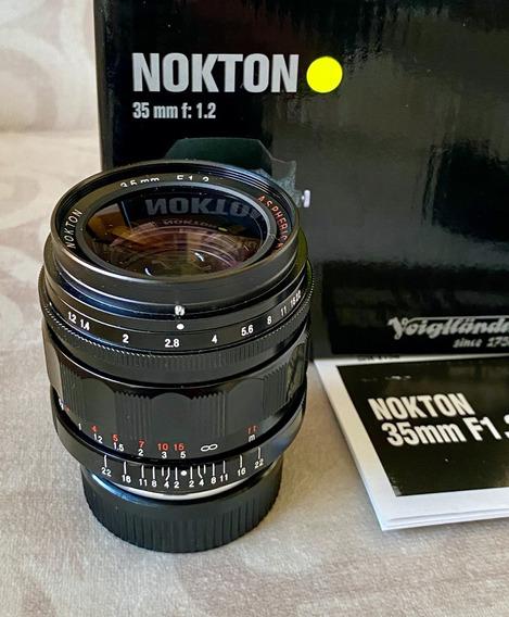 Lente Voigtlander Nokton V1 50mm F1.2 Asph. Leica M