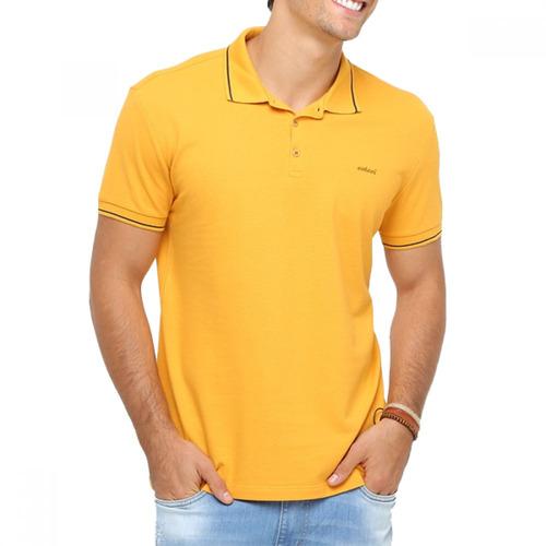 20be6f498 Camisa Polo Masculina Colcci Amarela - R$ 89,00 em Mercado Livre