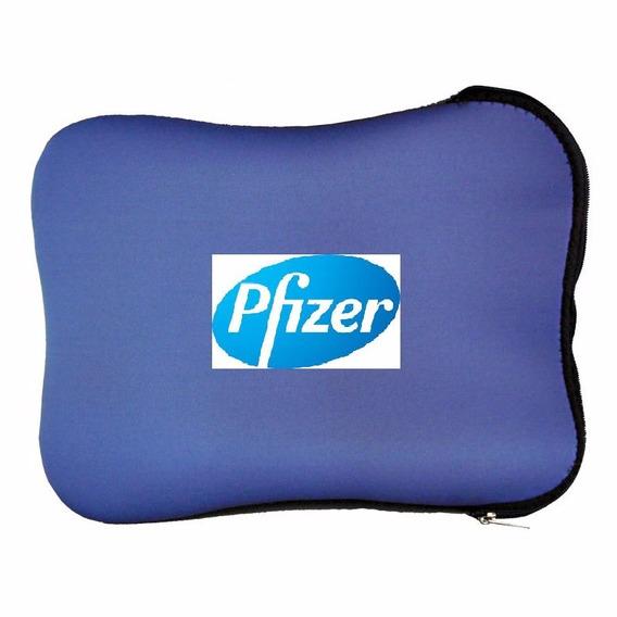 Pasta De Notebook - C/ Logo Da Pfizer - Ótimo Estado!!!!!