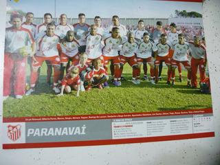 Mini Poster Paranavai Campeão Paraná 2007 Placar