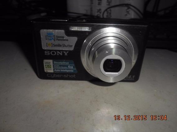 Câmera Sony Dsc-w610 Cyber-shot 14.1mp (740)