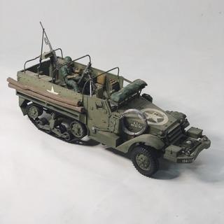 Miniatura De Veículo Morteiro M21 Da 2ª Guerra Escala 1 :35
