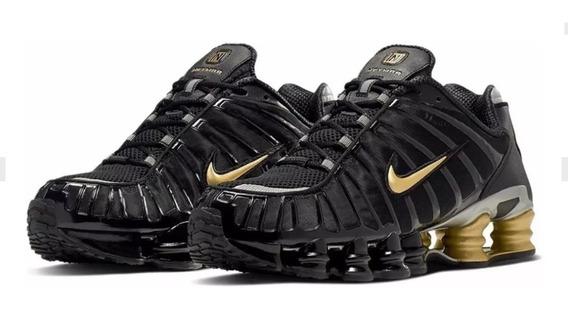 Tenis Masculino Nike Shox 12 Molas Confortável Promoção