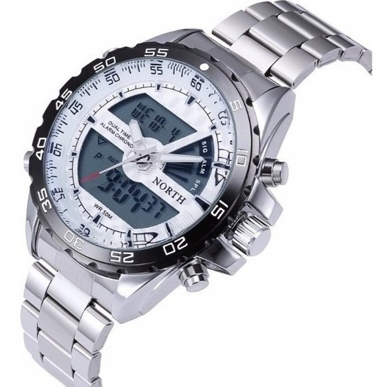 Relógio De Pulso North N6016 Sport Watch Masculino