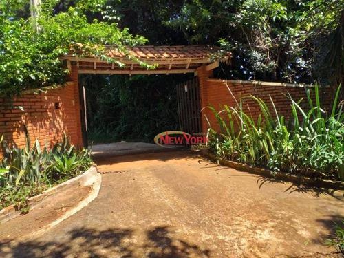 Chácara, 12000 M² - Venda Por R$ 1.000.000,00 Ou Aluguel Por R$ 2.780,00/mês - Zona Rural - São Carlos/sp - Ch0093