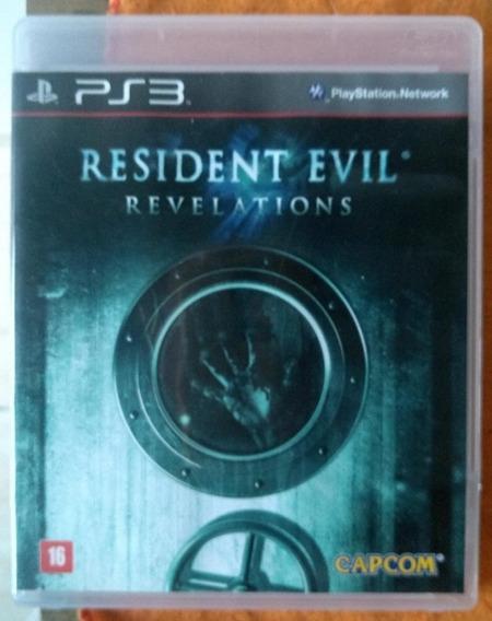 Resident Evil Revelations Ps3 Usado Frete 25
