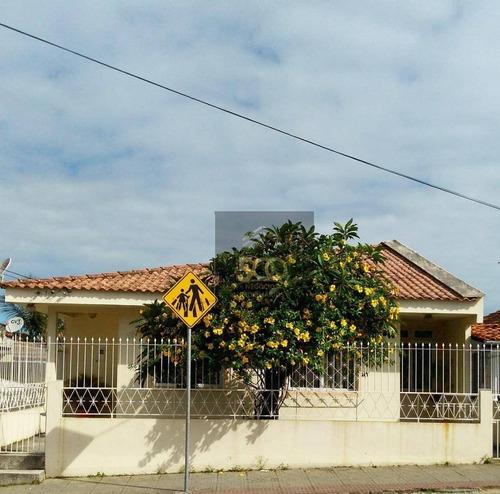 Casa Com 5 Dormitórios À Venda, 216 M² Por R$ 1.000.000,00 - Ipiranga - São José/sc - Ca0466
