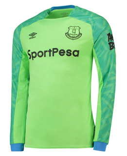 Jersey Umbro Everton Manga Larga Portero 2018-19 Original