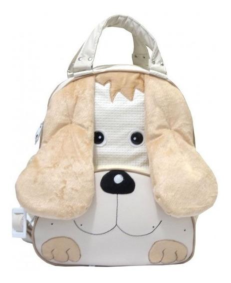 Mochila Dog Para Criança Palha - G - Mochila De Bebê