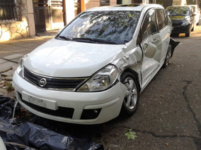 Nissan Tiida Tekna Chocado, Dado De Baja
