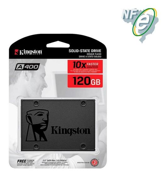 Hd Ssd Kingston 120gb A400 Sata3 P/ Macbook 500mb/s + Nfe