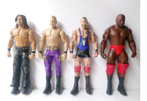 Wwe Triple H, Cm Punk,jhon Cena,edge Mattel $220 C/u