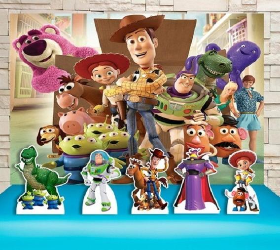 Kit Decoração Toy Story Pronta Entrega Promoção