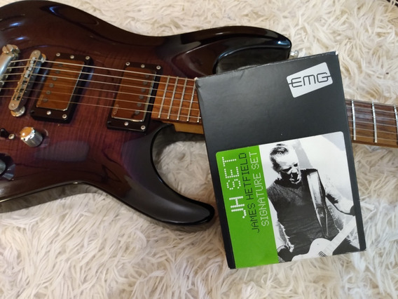 Guitarra Edwards By Esp - Captadores Emg Jh Set
