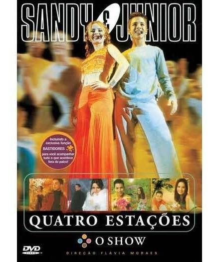 Dvd - Sandy E Júnior - ( Quatro Estações )