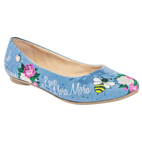 Zapato Casual Dama Moramora 5270 Azul 23-26 76272 T1