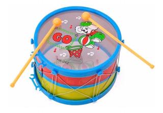 Tambor Infantil Redoblante Niños Batería Percusión Musical