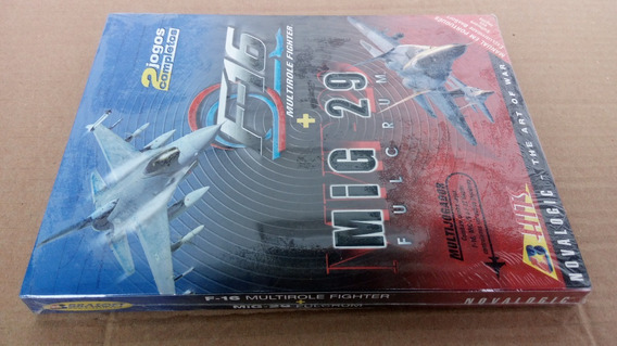 Pc Cdrom F-16 + Mig-29 Lacrado