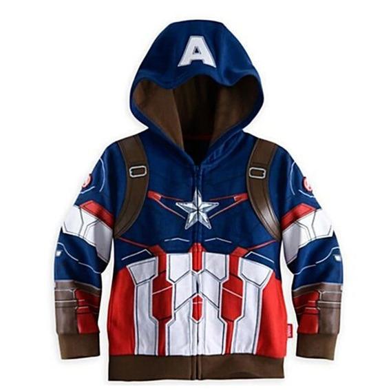 Sudadera / Sueter Avangers Capitan America Super Heroes Nuev