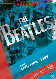Dvd The Beatles Especial Live 1962 To 1966