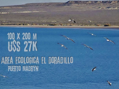 Lote Puerto Madryn Cerca Del Mar. Terreno100x200. Dos(2) Ha.