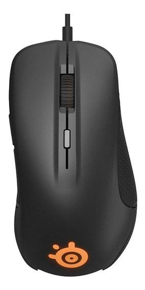 Mouse para jogo SteelSeries 300 Rival black