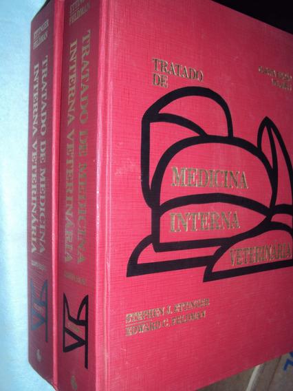 Tratado Medicina Interna Veterinária 2 Volumes (sebo Amigo)