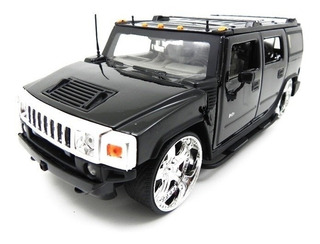 Miniatura Hummer H2 Preto Jada Toys 1/24